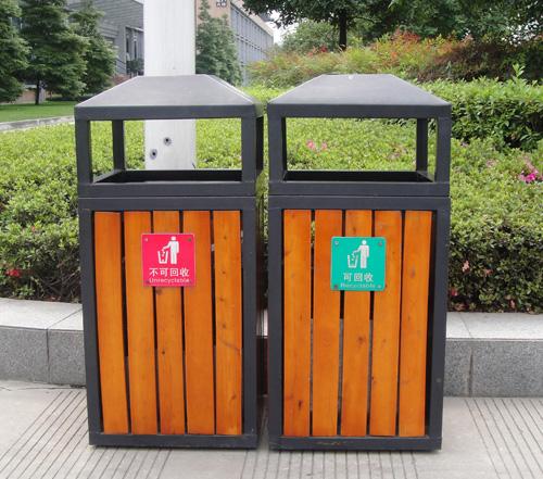 可回收和不可回收垃圾桶